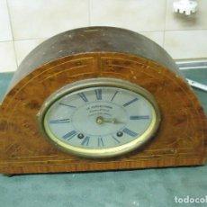 Relojes de carga manual: MUY RARISIMO RELOJ-HUCHA LA PENDRASTAVA COMPAÑIA DE SEGUROS-FRANCIA AÑO 1920-30- LOTE 58. Lote 92221385