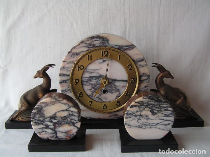 Relojes de carga manual: reloj art deco con guarnicion. - Foto 2 - 93083780