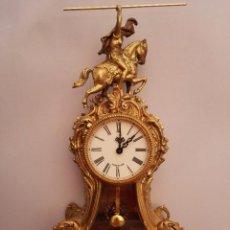 Relojes de carga manual: RELOJ DE SOBREMESA, BRONCE. Lote 93231550