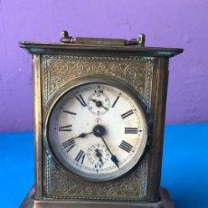 Relojes de carga manual: ANTIGUO RELOJ DE CARRUAJE JUNGHANS - VER FOTOS. Lote 93234685
