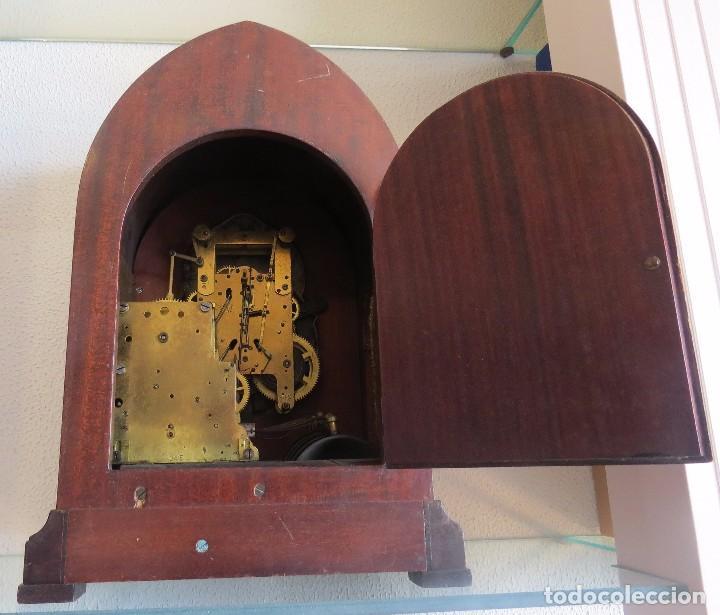 Relojes de carga manual: ANTIGUO RELOJ SONERIA 8 CAMPAN AS MARCA HIERRO Y CIA. HABANA HECHO EN USA - Foto 19 - 93758615