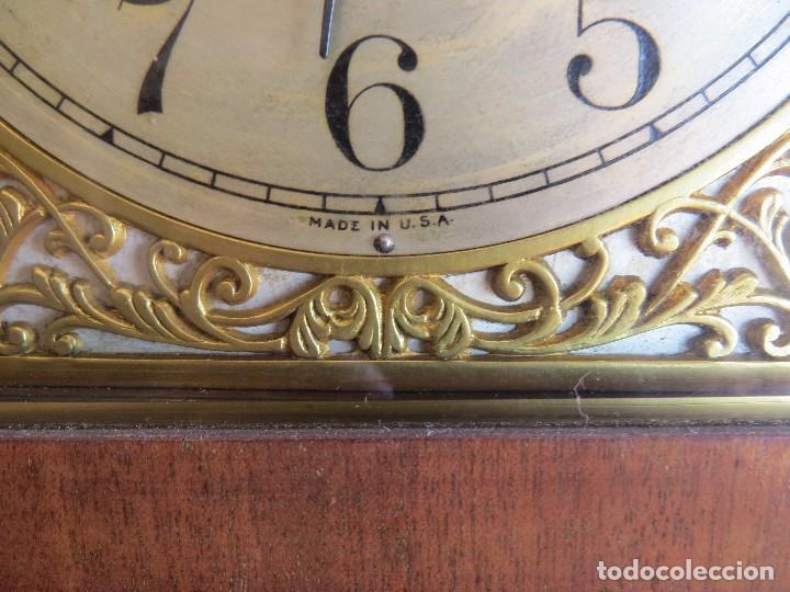 Relojes de carga manual: ANTIGUO RELOJ SONERIA 8 CAMPAN AS MARCA HIERRO Y CIA. HABANA HECHO EN USA - Foto 31 - 93758615