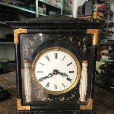 Relojes de carga manual: ANTIGUA CAJA DE RELOJ DE SOBREMESA. Lote 95149323