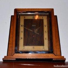Relojes de carga manual: RELOJ DE SOBREMESA ELÉCTRICO SMITH ELECTRIC ,MADERA. Lote 95649639