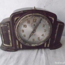 Relojes de carga manual: RELOJ DESPERTADOR JAZ REPETITION BAQUELITA. Lote 96058391