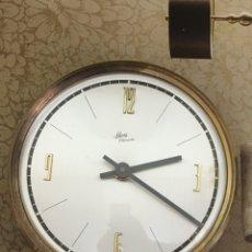 Relojes de carga manual: RELOJ SOBRE MESSA SCHATZ ELEXACTA VINTAGE ALEMÁN. Lote 96629296