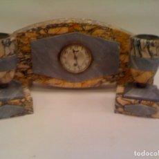 Relojes de carga manual: RELOJ ART DECO CON GUARNICION.. Lote 97608471