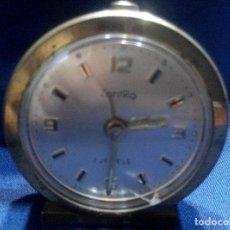 Relojes de carga manual: ANTIGUO RELOJ ALEMAN DE LA FIRMA ZENTRA CON ALARMA. Lote 98055779