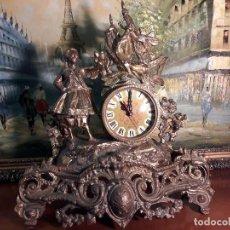 Relojes de carga manual: ANTIGUO RELOJ DE BRONCE. Lote 98369495