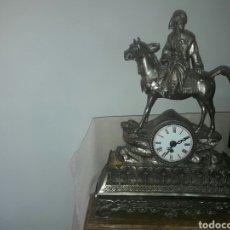 Relojes de carga manual: RELOJ ANTIGUO DE ORFEBRERÍA BAÑO DE PLATA . Lote 98880639