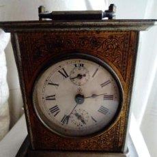 Relojes de carga manual: RELOJ TIPO CARRUAJE JUNGHANS. Lote 99864127