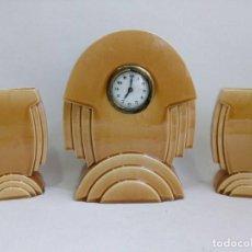 Relojes de carga manual: RELOJ ART DECO ST CLEMENT, FRANCIA AÑOS 30, FUTURISMO, MODERNISMO, ART NOUVEAU. Lote 99922531