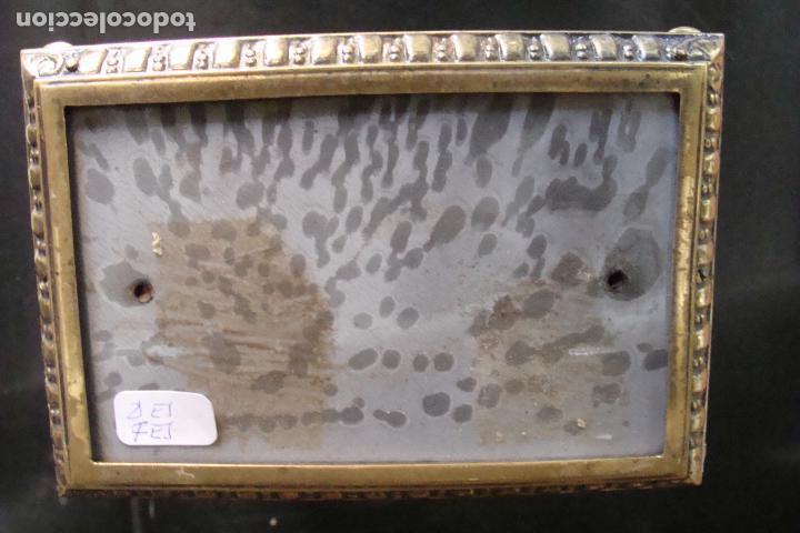Relojes de carga manual: Reloj de bronce y esmaltes - Siglo XIX - Foto 5 - 100326127