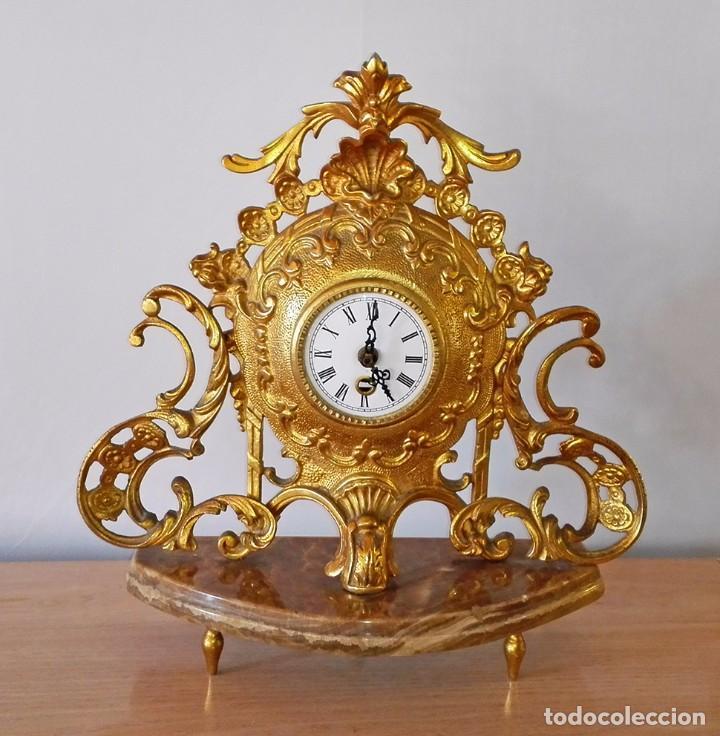 SobremesaAntes Dorado Reloj A CuerdaModificado Pilas XZkiPu