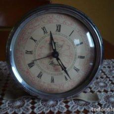 Relojes de carga manual: RELOJ ANTIGUO DE SOBREMESA MÉTALICO BIG BEN MICRO. Lote 102754011