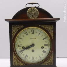 Relojes de carga manual: RELOJ RADIANT DE SOBREMESA. MOVIMIENTO FHS FRANZ HERMLE. SONERIA CARRILLON. Lote 103036847