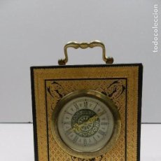 Relojes de carga manual: VINTAGE MERCEDES SWEDISH SKANDETUI MALMO, RELOJ DE ORO DE 24 QUILATES EN RELIEVE. Lote 103046107
