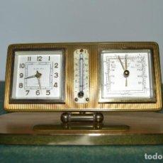 Relojes de carga manual: ANTIGUO RELOJ ¨EUROPA¨, BARÓMETRO Y TERMÓMETRO, ALEMANIA, ORIGINAL, FUNCIONANDO, MUY BUEN ESTADO.. Lote 103274615