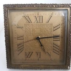 Relojes de carga manual: ANTIGUO RELOJ DE SOBREMESA, FUNCIONA. Lote 103967803