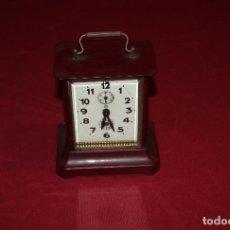 Relojes de carga manual: ANTIGUO RELOJ DE CARRUAJE JUNGHANS. Lote 104053059