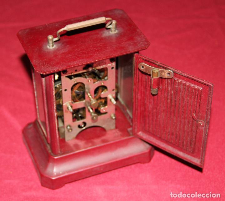 Relojes de carga manual: ANTIGUO RELOJ DE CARRUAJE JUNGHANS - Foto 4 - 104053059