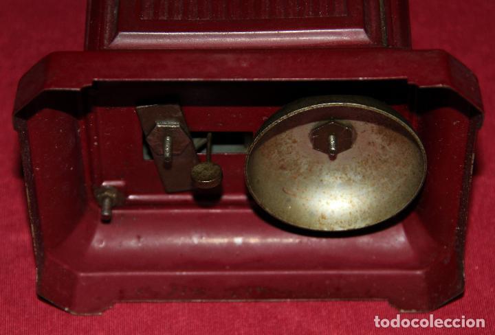 Relojes de carga manual: ANTIGUO RELOJ DE CARRUAJE JUNGHANS - Foto 6 - 104053059