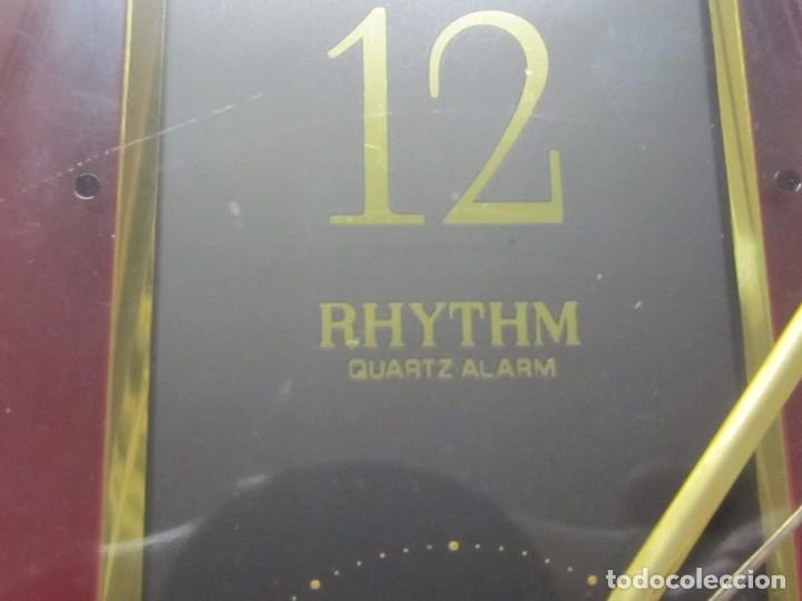 Relojes de carga manual: RELOJ DE SOBREMESA RHYTHM DE CUARZO - Foto 3 - 104373815