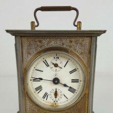 Relojes de carga manual: RELOJ DE CARRUAJE. JUNGHANS. JAULA DE METAL. NO FUNCIONA. SIGLO XIX-XX. . Lote 104588115