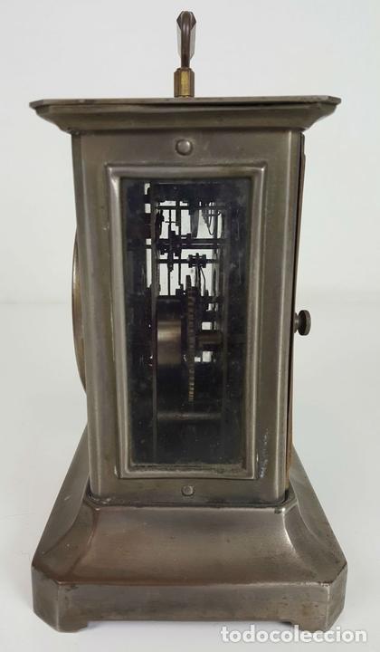 Relojes de carga manual: RELOJ DE CARRUAJE. JUNGHANS. JAULA DE METAL. NO FUNCIONA. SIGLO XIX-XX. - Foto 6 - 104588115