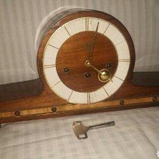 Relojes de carga manual: RELOJ SOBREMESA CHIMENA UBNER CARRILLÓN MAQUINARIA FHS GERMANY.. Lote 105173239