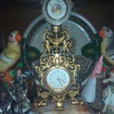 Relojes de carga manual: RELOJ+BAROMETRO XIX. Lote 105604416