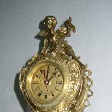 Relojes de carga manual: RELOJ DE BRONCE SOBREMESA. Lote 107204343