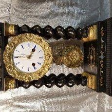 Relojes de carga manual: PRECIOSO RELOJ DE PÓRTICO IMPERIO FUNCIONANDO. Lote 107280355