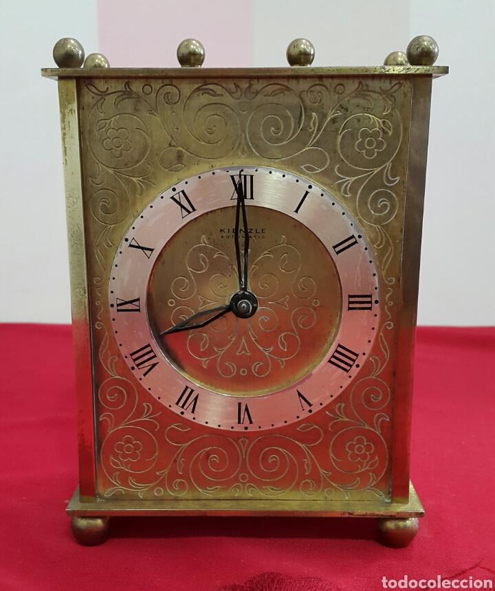 RELOJ ALEMÁN DE SOBREMESA KIENZLE AÑOS 50 (Relojes - Sobremesa Carga Manual)