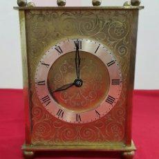 Relojes de carga manual: RELOJ ALEMÁN DE SOBREMESA KIENZLE AÑOS 50. Lote 107939940