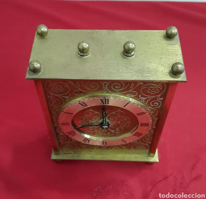 Relojes de carga manual: RELOJ ALEMÁN DE SOBREMESA KIENZLE AÑOS 50 - Foto 2 - 107939940