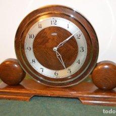 Relojes de carga manual: ANTIGUO RELOJ ¨METAMEC´, INGLATERRA, ESTILO Y ÉPOCA ART DECÓ, AÑOS 30, FUNCIONANDO.. Lote 108079559