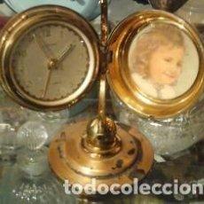 Relojes de carga manual: RELOJ SOBREMESA CON FORMA DE GLOBO TERRÁQUEO. EUROPA. Lote 108248283