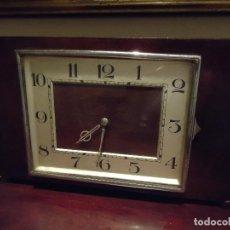 Relojes de carga manual: RELOJ DESPERTADOR ESTILO ART DECÓ, RACIONALISTA, FUNCIONANDO. Lote 109489155