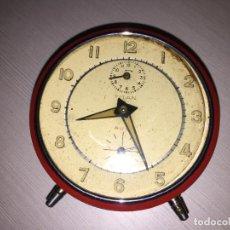 Relojes de carga manual: RELOJ DESPERTADOR TITAN RUBI, LEER. Lote 110545887