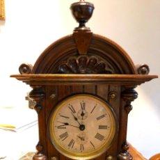 Relojes de carga manual: ANTIGUO Y PRECIOSO RELOJ JUNGHANS DE SOBREMESA. FUNCION DESPERTADOR.. Lote 110628247