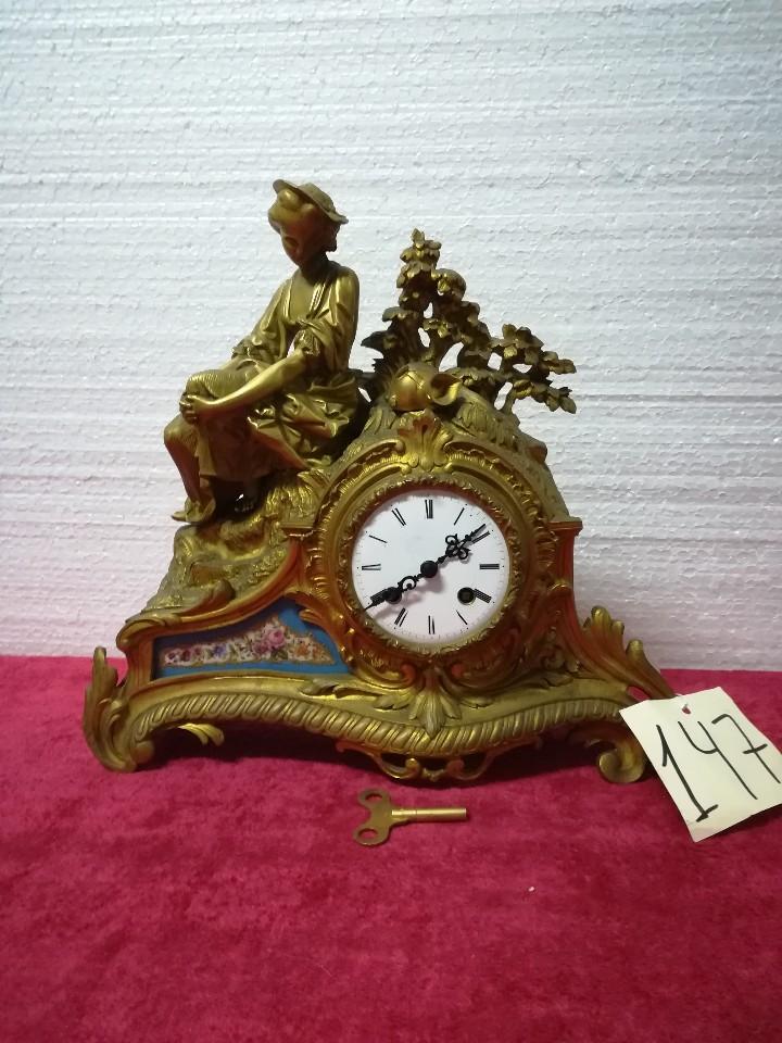 Relojes de carga manual: RELOJ DE SOBREMESA ESTILO NAPOLEÓN III- 1850-1870, 6000-147 - Foto 14 - 43451443
