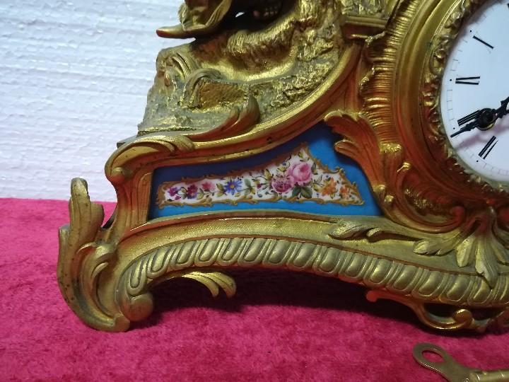 Relojes de carga manual: RELOJ DE SOBREMESA ESTILO NAPOLEÓN III- 1850-1870, 6000-147 - Foto 17 - 43451443