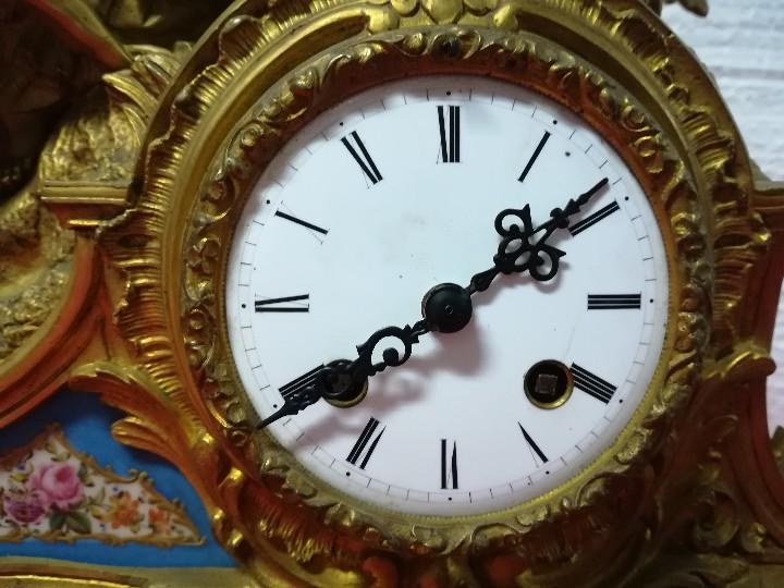 Relojes de carga manual: RELOJ DE SOBREMESA ESTILO NAPOLEÓN III- 1850-1870, 6000-147 - Foto 18 - 43451443