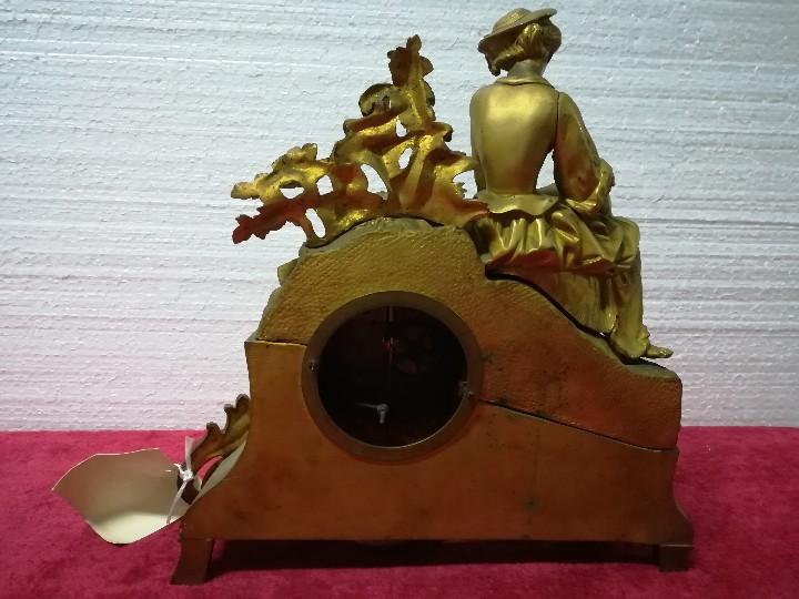 Relojes de carga manual: RELOJ DE SOBREMESA ESTILO NAPOLEÓN III- 1850-1870, 6000-147 - Foto 20 - 43451443