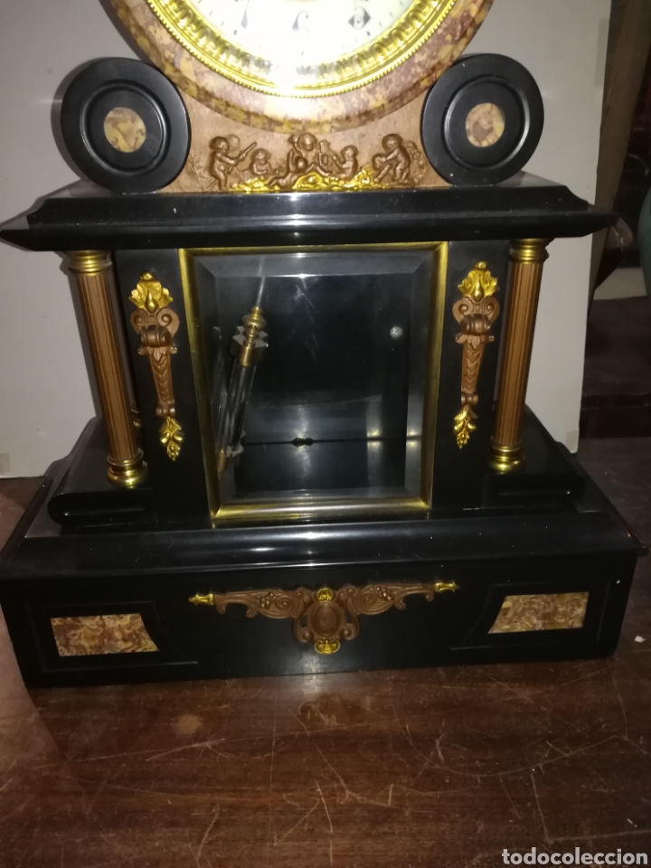 Relojes de carga manual: Reloj francés de mercurio XIX muy bien conservado en marcha - Foto 2 - 111370692