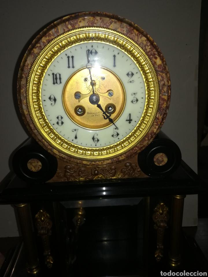 Relojes de carga manual: Reloj francés de mercurio XIX muy bien conservado en marcha - Foto 3 - 111370692
