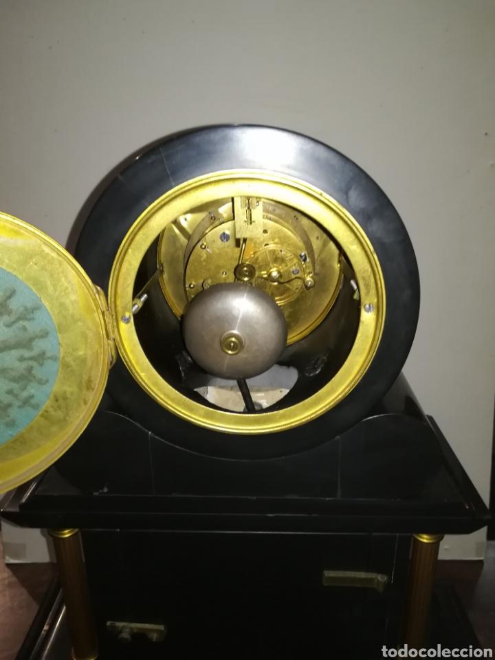 Relojes de carga manual: Reloj francés de mercurio XIX muy bien conservado en marcha - Foto 7 - 111370692