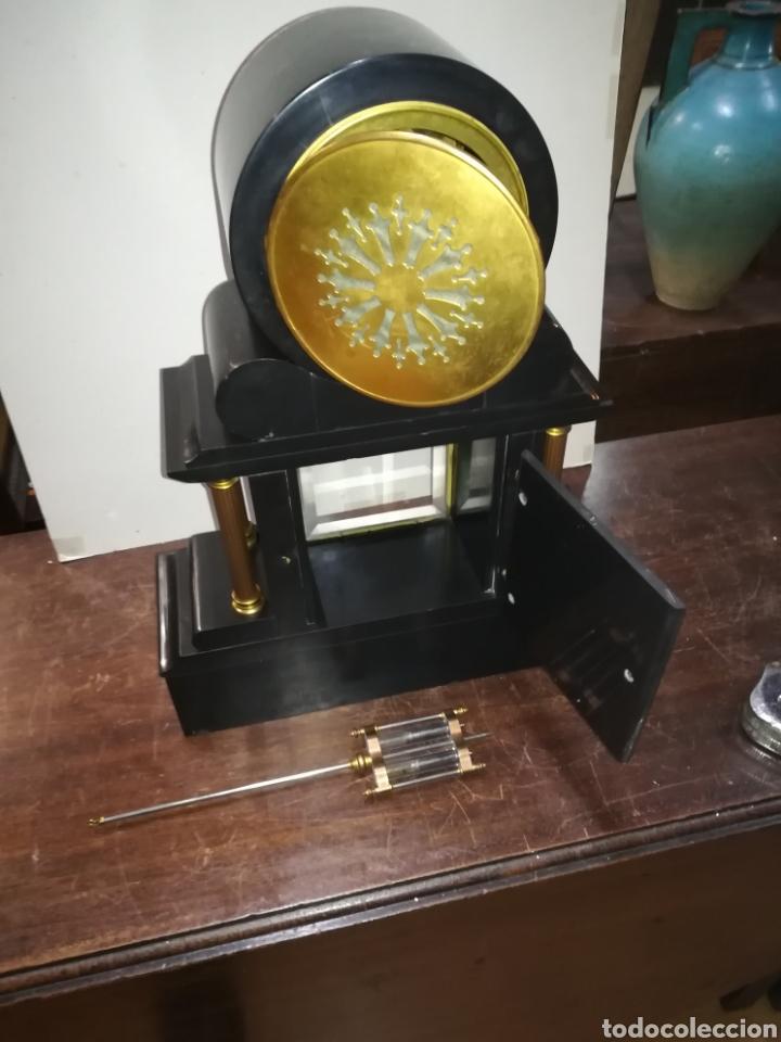 Relojes de carga manual: Reloj francés de mercurio XIX muy bien conservado en marcha - Foto 9 - 111370692