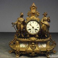 Relojes de carga manual: RELOJ CALAMINA CABALLERO Y DAMA SIGLO XIX. Lote 111410651